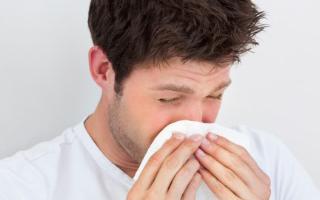 неприятный запах чихании изо рта